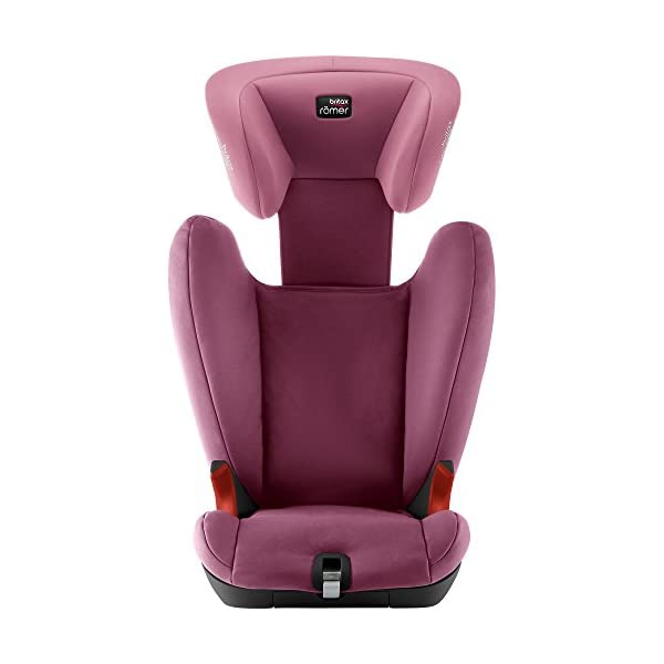 Britax Römer KIDFIX SL BLACK SERIES Group 2-3 (15-36kg) Car Seat - Wine Rose Britax Römer Simple installation - soft-latch isofit system Misuse limiting design - intuitively positioned seat belt guides Lightweight - easy to transfer between cars 4