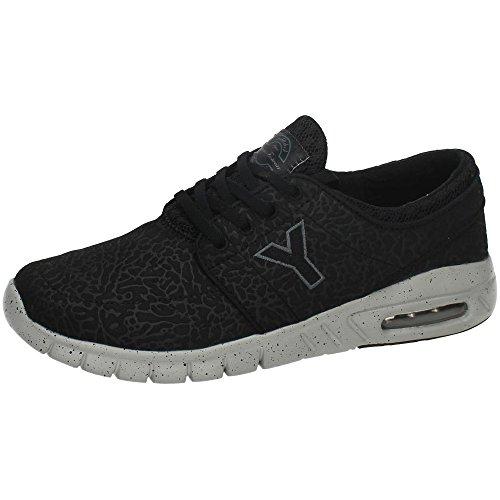 De Homens Yuma Ar Dos Livre Sapatos Fitness Ao De Negros gwdAA8