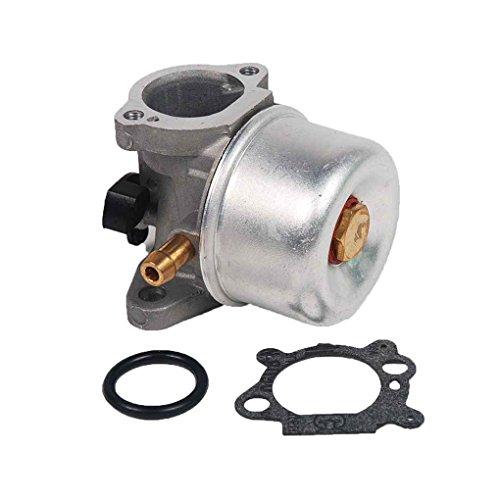 QotoneCarburateur pour Briggs Stratton 799872 790821 Carb tondeuse à gazon Kits de pièces de rechange