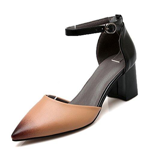 Fashion Heel - Strap alla caviglia donna apricot