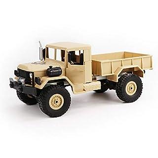 CR Car AP RC Auto Kraftfahrzeuge Remote App Gesteuerte LKW Spielzeug LKW Fernbedienung Geländewagen Spielzeug 2,4G Fernbedienung 4WD Tracked Off-Road Military Truck Auto Gelb