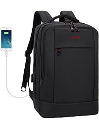Tigernu mochila portátil de negocios delgado contra robo computadora de viaje mochilas bolsa portátil ecológico a…