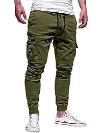 QUICKLYLY Pantalones Vaqueros Hombre Pitillo Rotos Chandals Trekking Skinny b73af6c47632e