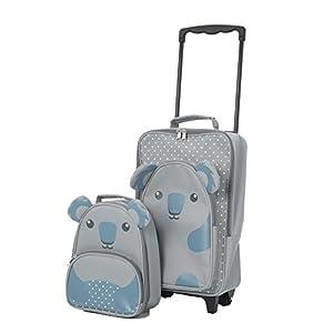 Aerolite Kindergepäck Kinderkoffer Reisekoffer Handgepäck und Rucksack Kofferset