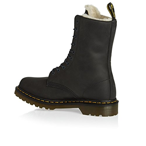 Dr.Martens Womens 1490 Wildhorse Fur Lined Leather Boots *