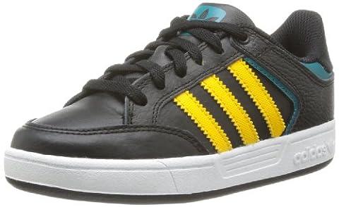 adidas Originals VARIAL J Q33255, Jungen Sneaker, Schwarz (BLACK1/RAYYE), EU 36 2/3