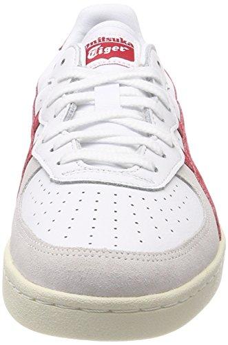 Onitsuka Tiger GSM, Sneaker a Collo Basso Unisex-Adulto Multicolore (White/Tandori Spice)