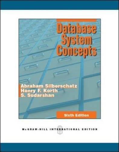 Preisvergleich Produktbild Database System Concepts