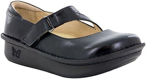 Alegria Womens Dayna Mary Jane Shoe Jet Lustre Talla 35 EU (5-5.5 M US Mujeres)