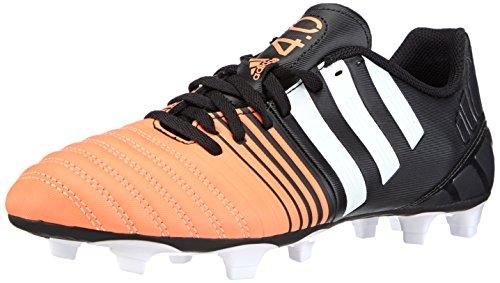 adidas Nitrocharge 4.0 Trx Firm Ground, Chaussures de Football Compétition homme Schwarz (Core Black/FTWR White/Flash Orange S15)
