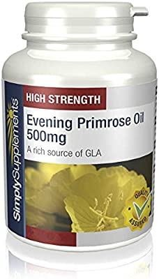 SimplySupplements Evening Primrose Oil 500mg |2x 180 Capsules by Simply Supplements