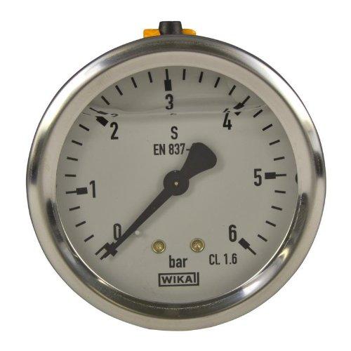 Wika Manometer (Manometer, NG 63, 0-6 bar - WIKA 213.53 - 9022198)