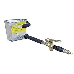 ECO-WORTHY 4 Jet tolva de estuco de pared pulverizador – pulverizador – pulverizador de yeso – Pistola de mortero de cemento hormigón estuco yeso pintura pared herramienta