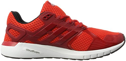 adidas Duramo 8, Scarpe da Corsa Uomo Rosso (Core Red/ftwr White/core Black)