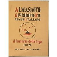 Almanacco giuridico-forense italiano : ''Il lunario della