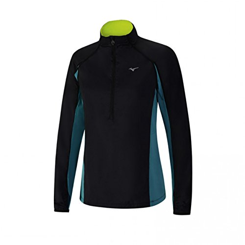 Windtop (Mizuno Women's Static BT Laufen Windtop - AW17 - X Small)