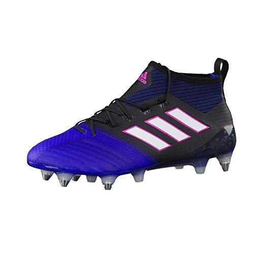 adidas Ace 17.1 Primeknit, Chaussures de Futsal Homme Noir (Negbas/ftwbla/azul)
