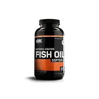 Optimum Nutrition Enteric-Coated Fish Oil Softgels - Tub of 200