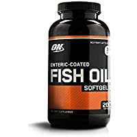 Optimum Nutrition Fish Oil Capsules, 200 Softgels