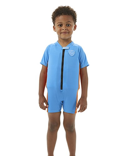 Speedo Accessoires Sea Squad Float Suit, Japan Blue/Salso, 5-6, 8-0574594905-6