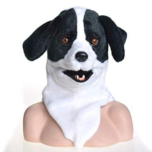 Zum Anime Verkauf Kostüm - LZY Masken Mouth Mover Maske Moving Jaw Maske Tiermaske Hundekopfbedeckung Voller Kopf Tier Moving Mouth Cosplay Karneval Kostüm Hundebleiche Anime Masken zum Verkauf Cosplay