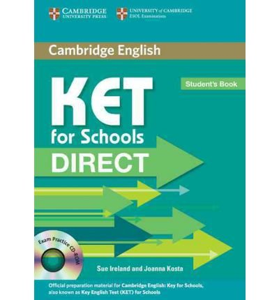 KET for Schools Direct Student's Book with Cd-rom (Mixed media product) - Common