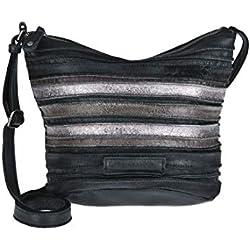 FREDsBRUDER Damen Crossbody-Bag POPPY metallische Effekte