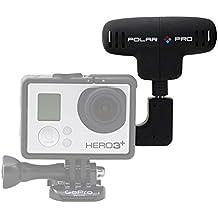 Polar Pro Pro Mic - Micrófono externo para videocámara GoPro Hero 3+, negro