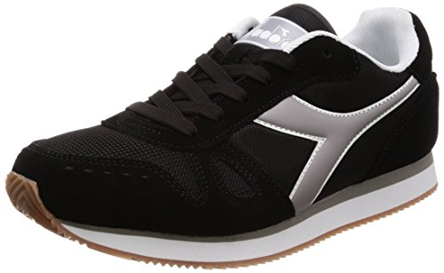 Diadora Simple Run, Scarpe Sportive Uomo, (Nero 80013), 41 EU