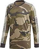 adidas Originals Longsleeve Herren CAMO LS Tee DV2055 Camouflage, Größe:L