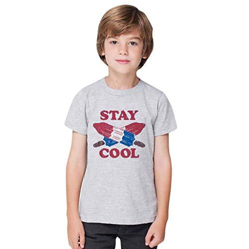 Kinder Bio T-Shirt   100% Organic Bio-Baumwolle   Zertifiziert   Jungen Mädchen Unisex Baby kurzes Oberteil   1 bis 8 Jahre   Größe 92-128   hochwertige Premium Qualität Big Daddy Hut