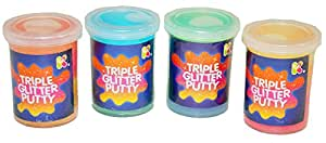 Triple Glitter Putty