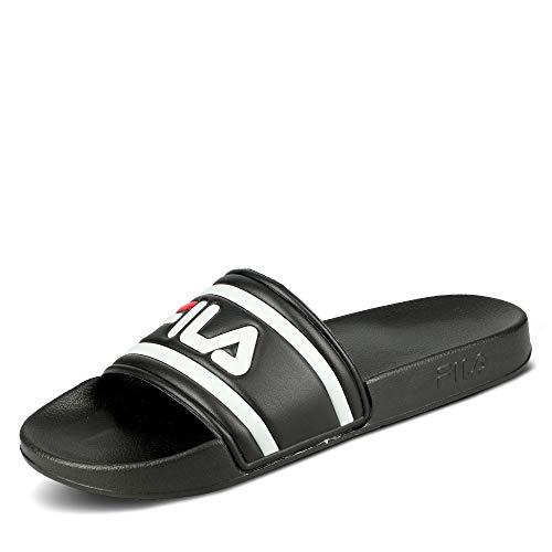 Fila Badelatschen Morro Bay Slipper 1010286 25Y Schwarz Black, Schuhgröße:43