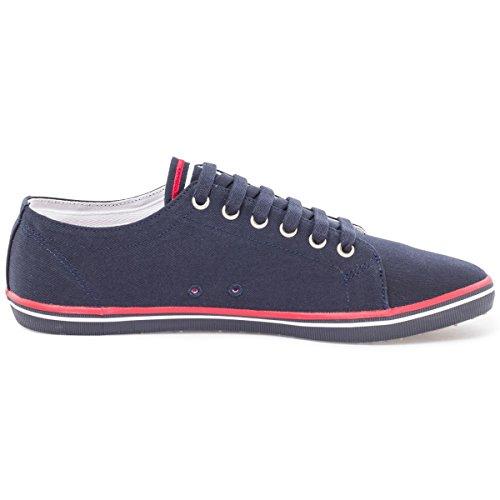 Fred Perry Kingston Twill, Sneaker donna Nero/Corallo