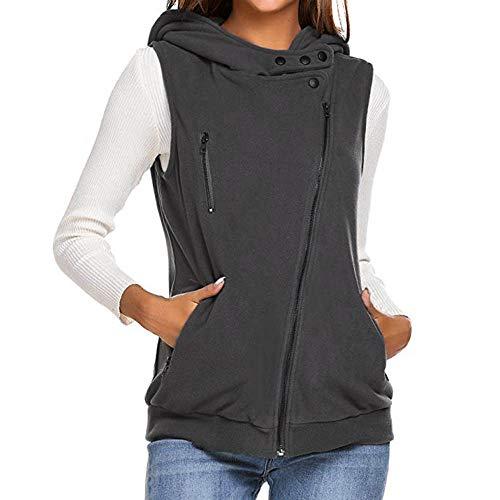 Innerternet Herbst Winter Elegante Damen Westen Weste Winter Warme Hoodie Outwear Casual Mantel Kunstpelz Reißverschluss Sherpa Jacke Winter Weste