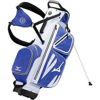 2015 Mizuno Elite Stand Bag Carry Mens Golf Bag 4-Way Divider Tour-Staff Navy -