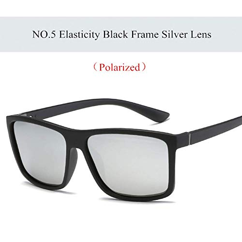 YHEGV Marke Herren polarisierte Sonnenbrille spezielle Driving Driver Sonnenbrille Frauen Vintage Rechteck Anti-Glare-Brille Brillen