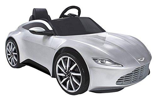 James Bond Aston Martin 6V Electric Ride On Car Kids Battery Lights Sounds Toy