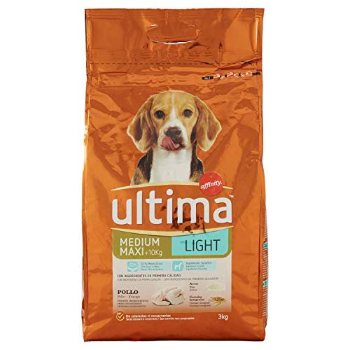 Ultima Cibo per Cani Medium Maxi Adult Light - 3 kg