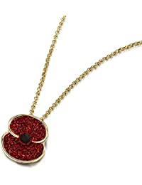 The Royal British Legion The Poppy Collection ® Sparkle Pendant