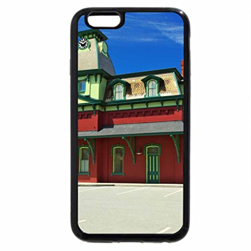 iPhone 6S / iPhone 6 Case (Black) Old Train Station