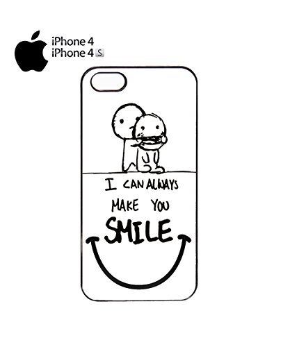 I Can Always Make You Smile Friendship Best Mobile Phone Case Cover iPhone 6 Plus + White Noir