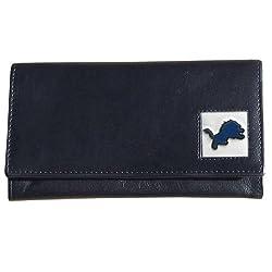 NFL Detroit Lions Women's Leather Wallet