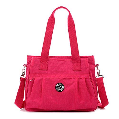Frauen Reise Plus größe Schulter Handtaschen multifunktionale Wasserdichtes Nylon Messenger Bags