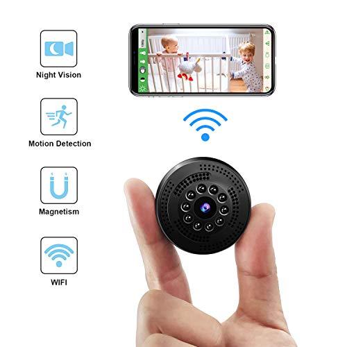Mini Kamera, TDW Wireless HD 1080P WLAN Mini Überwachungskamera ...