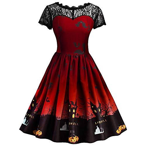 Jahrgang 1920 Kleider Für Verkauf - TIZUPI Rockabilly Kleider Damen Halloween Party