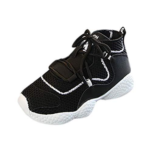 Mitlfuny Lauflernschuhe Fliegendes Weben Schuhe Mesh Atmungsaktiv Sportschuhe Freizeit Krabbelschuhe,Kinder Säugling Kinder Baby Jungen Mädchen Mesh Atmungsaktive Sport Run Sneakers Schuhe