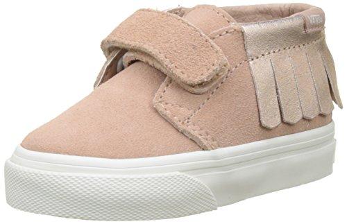 Vans Unisex Baby Chukka V Moc Suede Sneaker Pink (Metallic/Rose Gold) 25 EU Van Moc