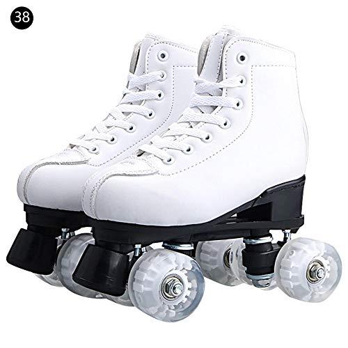 Meteor Pattini retr/ò Disco Roller Skate 3 in 1 Pattini in Linea Pattini a rotelle 4 Ruote Quad Skate Pattini da Ghiaccio per Bambini e Adulti Taglia Scarpe Regolabile per Ogni Stagione dellanno Eden