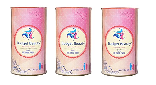 Budget Beauty Effective Natural Depilation Hair Removal Powder For Men & Women Pack Of 3